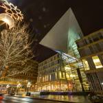 """Winter Magic - Minneapolis Public Library"" by WaynePhotoGuy"