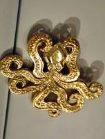 Achaean Octupus Golden Brooch