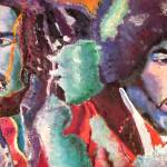 """Bob and Jimi"" by Michaeloart2012"
