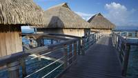 Overwater Bungalows in Moorea