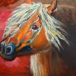"""Gypsy Vanner rusty/Year of the Horse"" by jennylee"
