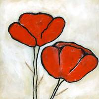Orange Poppies II