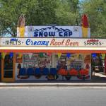 """Route 66 - Snow Cap Drive-In"" by Ffooter"