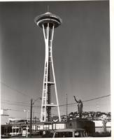 Seattle Space Needle Vintage photograph