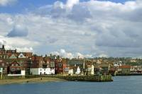 Tate Hill Pier and The Shambles, Whitby (36036-RDA