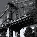 """Manhattan Bridge Abstract"" by jeffwatts"