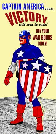 Captain America WWII War Bonds