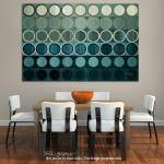 """Circles and Squares 40. Modern Abstract Fine Art.-"" by MarkLawrence"