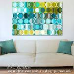 """Circles and Squares 32- Interior Decorator Room In"" by MarkLawrence"