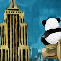 Hero Panda Art Prints & Posters by Stephanie Chisholm