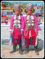 Monpa youth in traditional attire