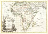 Vintage Map of Africa (1762)