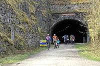 Cressbrook Tunnel on the Monsal Trail (36284-RDA)