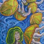 """""""Woman With Jellyfish"""" by Rudy"""
