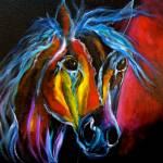 """Gypsy Vanner rusty"" by jennylee"