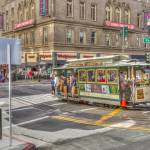 """A San Francisco cable car."" by SueLeonard"