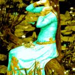 """My Interpretation of Ophelia  1894 1a"" by bandtdigitaldesigns"