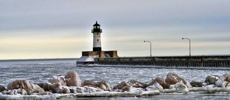 Lighthouse on Ice