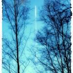 """""""Distant Airplane in Blue Sky"""" by NatalieKinnear"""