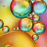 """Pretty Drops of Rainbow Oil II"" by SJohnstone"