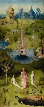 Hieronymus Bosch The Garden Of Earthly Delights Le