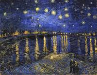 Vincent Van Gogh Starry Night Over The Rhone