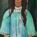 """Amedeo Modigliani Alice Italian Art Expressionism"" by masterpiecesofart"