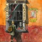 """Mexican Coffee Window"" by schulmanart"