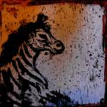 """abstract zebra"" by songsforseba"