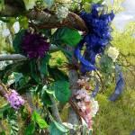 Festive Maypole Fence