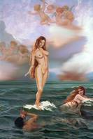 TRADITIONAL MODERN FEMALE NUDE APHRODITE