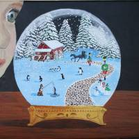 Snow Globe Art Prints & Posters by Yvonne Carter