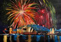 Sydney Firework at Opera House