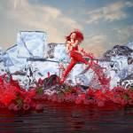 """""""RedBerry IceCafe_32x18"""" by dreamz2designz"""