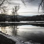 """""""Winter on the Shenandoah River"""" by WildAboutNaturePhotography"""