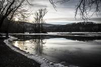 Winter on the Shenandoah River
