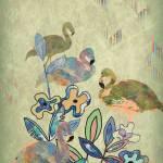 """Flamingo Prelude"" by ArtByRuta"