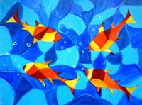 Joy Fish Abstract