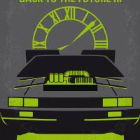 """No183 My Back to the Future movie poster-part 3"" by Chungkong"