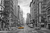 5th Avenue Yellow Cab - NYC
