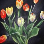 """""""FloralTulips3"""" by clarejohns"""