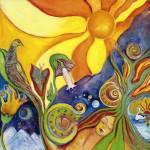 """""""Aurora Greenwood The Dream Surreal Folk Fantasy Ar"""" by masterpiecesofart"""