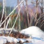 """""""Birch Trees in Winter"""" by clarejohns"""