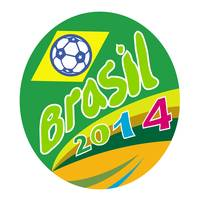 Brasil 2014 Soccer Football Ball Oval