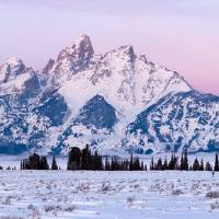 Teton Twilight Panorama Art Prints & Posters by David Kocherhans