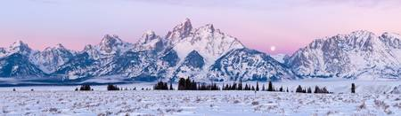 Teton Twilight Panorama