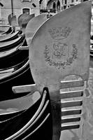 Fero - Detail of a gondolas in Venice Italy