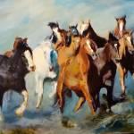 """""""Wild Blue Yonder"""" by jacquelinebrewerart"""
