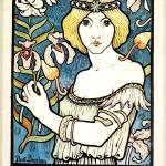"""""""Paul Berthon Salon Des Cent French Art Nouveau"""" by masterpiecesofart"""