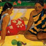 """Paul Gauguin Two Women Of Tahiti Parau Api Post-Im"" by masterpiecesofart"